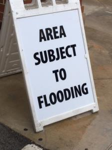 Crabtree Valley Mall warns of flooding