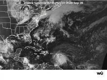 Barry Forecast Maps