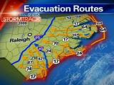 Map out evacuation route before the storm hits