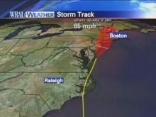 Hourly Hurricane Irene update