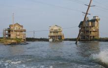 Photos of Hurricane Irene's impact in Rodanthe by Donny Bowers.