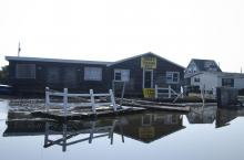 Images of Hurricane Irene's impact in Rodanthe by Donny Bowers.