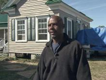 Pamlico County resident George Midgette has welcomed the help of volunteers and professionals to rebuild his Pamlico County home after Hurricane Irene flooded it on Aug. 27, 2011.