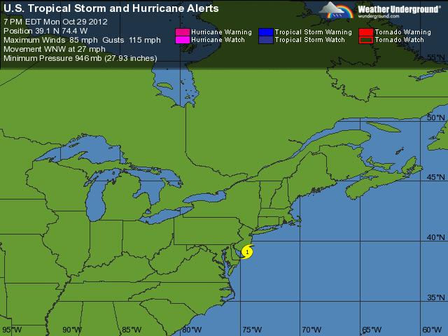 Sandy Alerts
