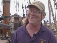Crews continue search for tall ship's captain