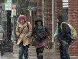 Sandy sends steady snowfall to western NC