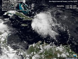 Chantal Satellite - wunderground.com
