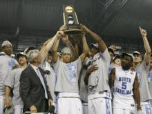 UNC Players Celebrate 2009 NCAA Championship