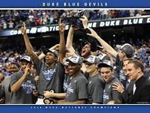 Duke Blue Devils - 2010 NCAA Champions