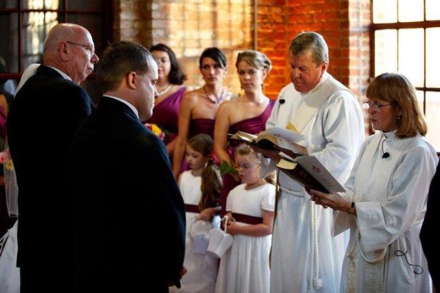 Mary Alice Boliek wedding
