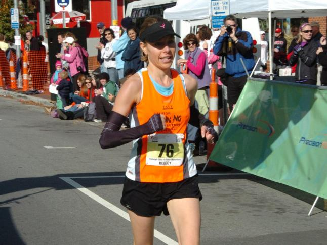 Kelcey Carlson, City of Oaks marathon