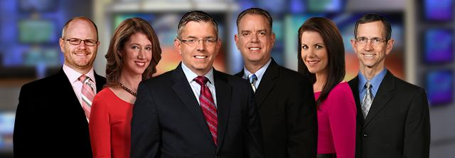 WRAL meteorologists 2012