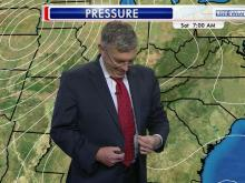 Greg Fishel pops a button on air