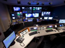 WRAL control room
