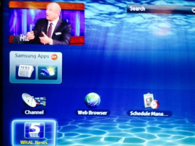 WRAL Smart TV app for Samsung TVs