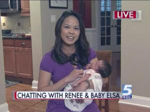 Renee Chou and Elsa joined the WRAL Morning News at 6 a.m. on Wednesday, May 21, 2014.