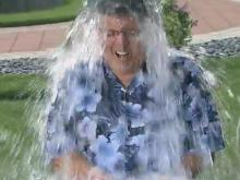 Greg Fishel takes #IceBucketChallenge