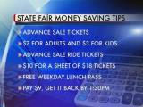 Money-saving tips for the State Fair