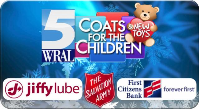 Coats for the Children web header