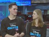 William Ott and Adriene Petrillo talk with WRAL about Disney on Ice returning to the Triangle.