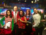 Morning team debuts ugly Christmas sweaters