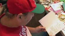 Michigan man receives nearly 2,000 Christmas cards