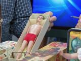 Vintage toys on display at Triangle antique show