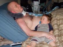 Dugan Smith and his son, Paul (Photo courtesy Autumn Smith)