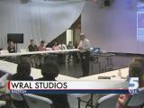 Wake County students visit WRAL for job shadow program