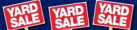 Find upcoming yard sales or list your own on WRAL.com Classifieds