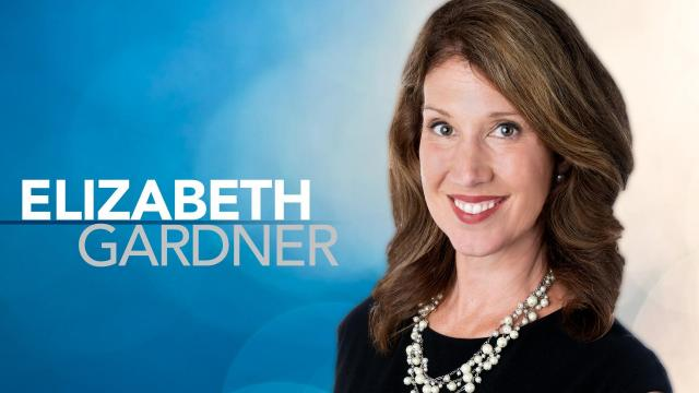WRAL's Elizabeth Gardner serves as a meteorologist for WRAL-TV's morning and noon newscasts.