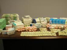 Man arrested, stores cited in illegal medication bust