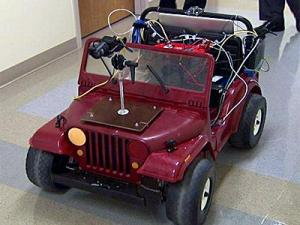 Students at North Carolina State University have developed technology that allows a vehicle to steer itself.