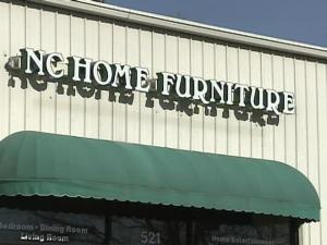 Bankrupt Furniture Store Leaves Customers Standing