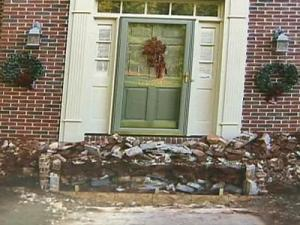 Susan Hurley found that hiring the wrong contractor left her front porch a mess for months.