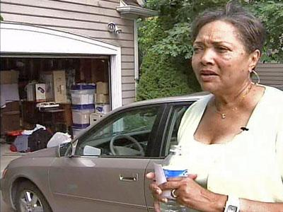 Nan Allen of Wake County is glad to be able to park her car in her garage. Precision Doors worked on it at various times since spring 2006.