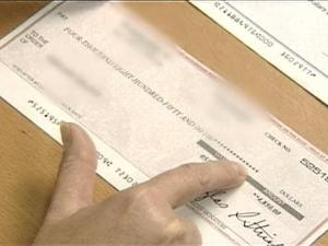 Watch out for a scam where you get checks in the mail.