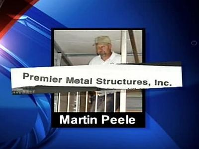 A Chatham County man put down $6,700 on a 24 x 26 metal building that never went up.