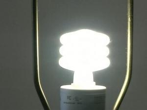Compact fluorescent light bulbs save energy.