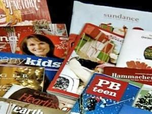 Homeowner Rachel Skinner said she cringes every time she takes a pile of catalogs out to be recycled. More than 53 million trees are used to produce paper catalogs each year.