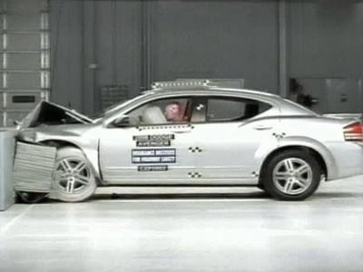 The Insurance Institute for Highway Safety tested seven mid-sized cars and found that the vehicles are getting safer, in part due to side airbag protection.
