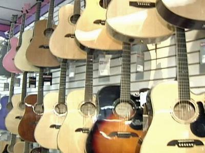 New and used guitars are available at  Music Go Round in Cary.