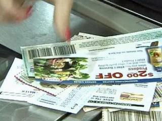 Faye Prosser said she feeds her family of four for just $55 a week by using coupons.