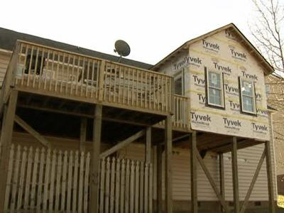 Nancy Welsh hired a contractor to build her grandson's nursery, along with an extended deck.