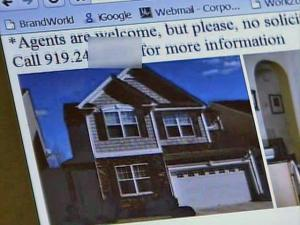 Jenny Hock became the victim of a scammer after placing her Raleigh home for sale on Craigslist.com.