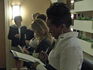 Wednesday's job fair in Raleigh focused on sales careers.