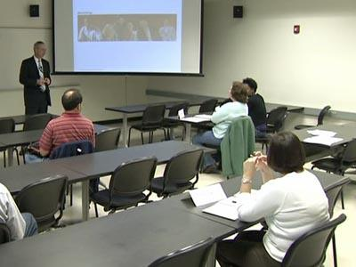 Wake Technical Community College offers a class for people thinking of starting a business.