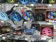 Find the right bike helmet for you and your kids.