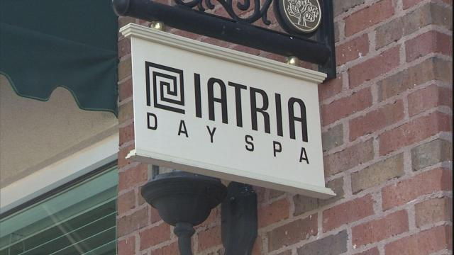 Iatria Day Spa locations have closed due to the recession.