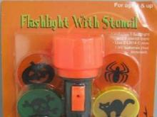 Two types of Halloween-themed flashlights -- the mini flashlights and flashlights sold with stencils -- are the subject of a recall.